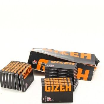 Papírky na cigarety Gizeh 20x 100 ks