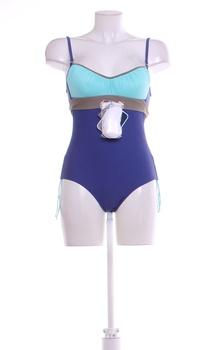 Dámské jednodílné plavky Marko odstín modré
