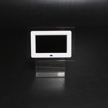 Digitální fotorámeček bílé barvy