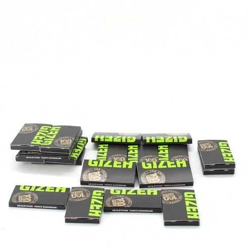 Papírky a filtry Gizeh Slim 40 kusů