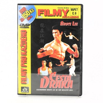 DVD Bruce Lee: Cesta draka