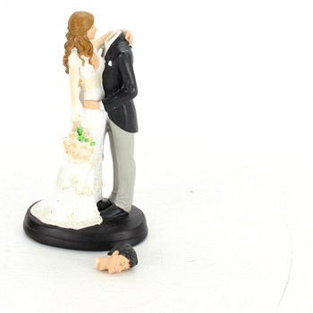 Svatební figurka na dort Dekora 305058