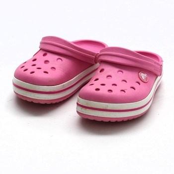 Dětské boty Crocs růžové barvy