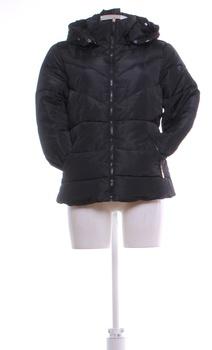 Dámská bunda na zádech síťovaná černá M