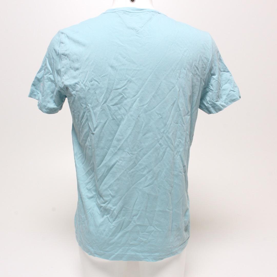 Pánské tričko Tommy Hilfiger bledě modré