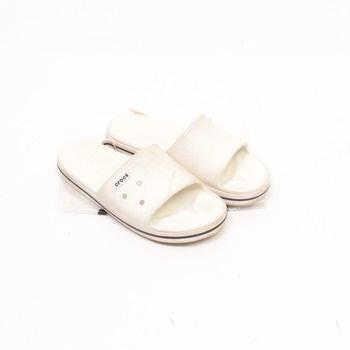 Pánské pantofle Crocs Slide White / Black