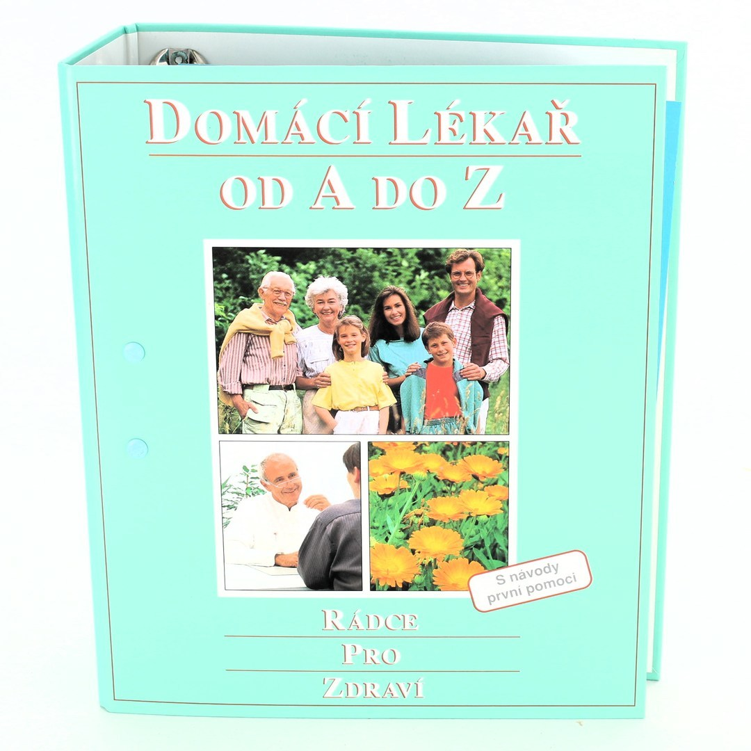 Kniha Domácí lékař
