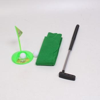 Hra Fairly Odd golfový miniset na toaletu