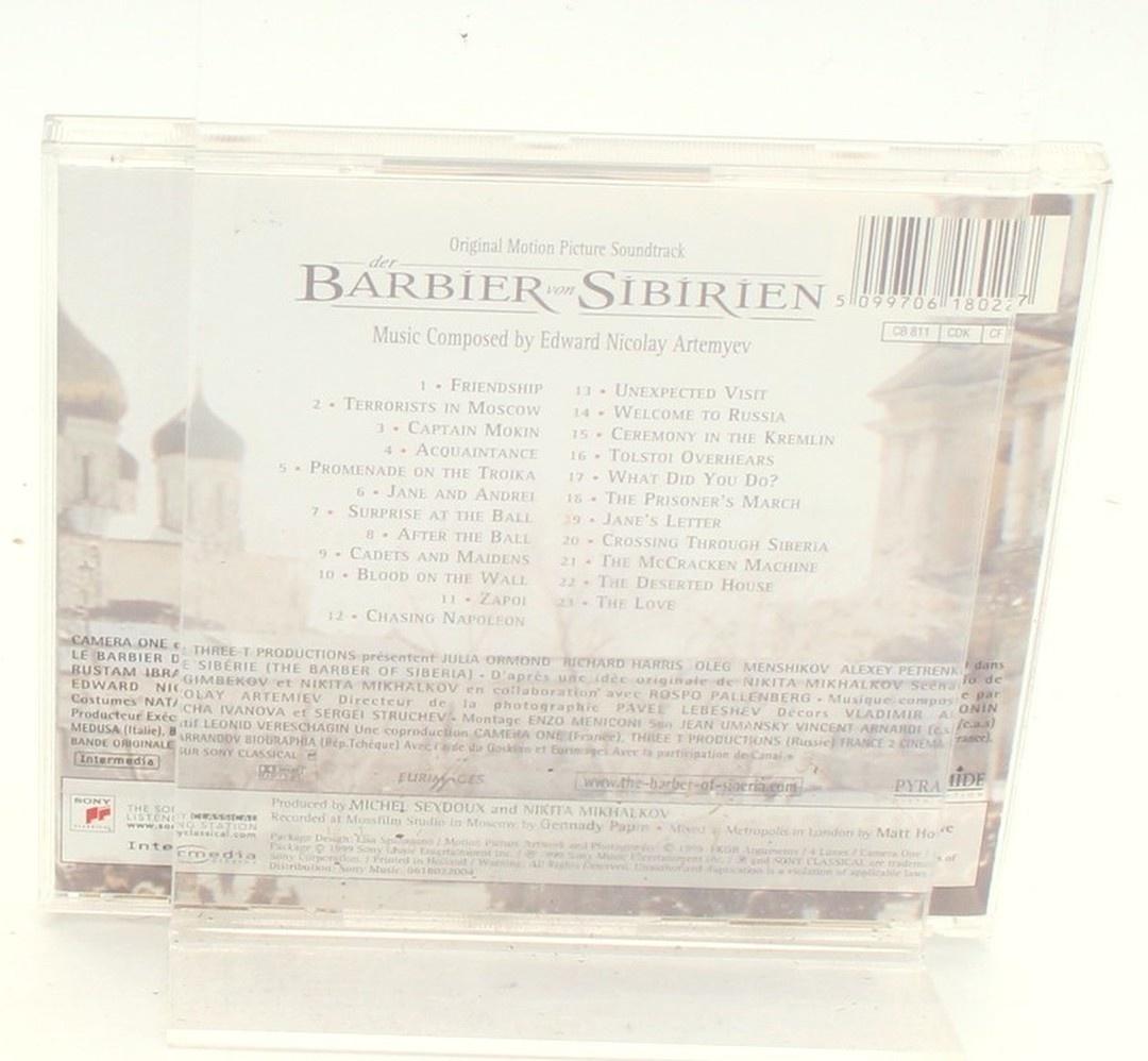 CD Der Barbíer von Sibírien