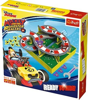 Trefl Mickey a závodníci Ready to Ride