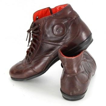 Pánské kotníkové boty Koil hnědé