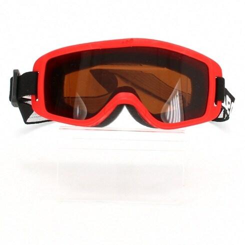 Lyžařské brýle dětské Wedze červené
