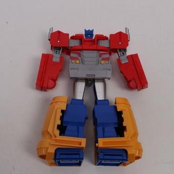 Transformers Optimus Prime Tra Cyberverse
