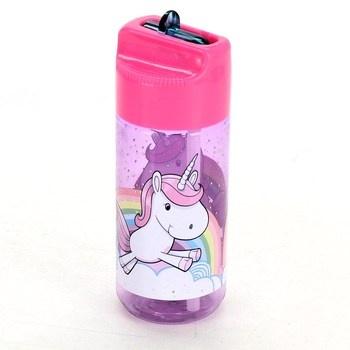Dětská láhev s jednorožcem POS 28233088
