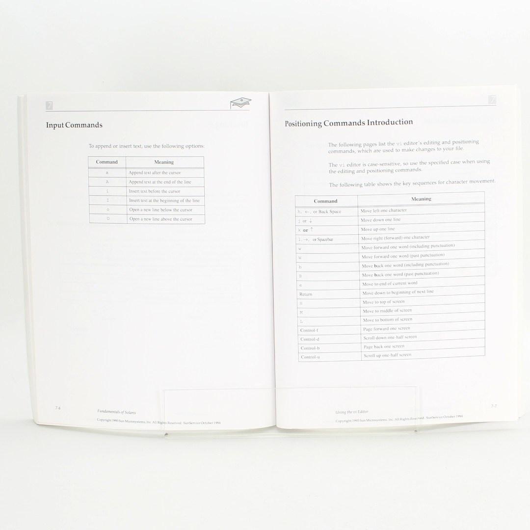 Počítačová literatura Fundamentals of Solaris