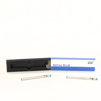 Náplně Mont Blanc Royal Blue M 2 ks