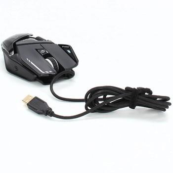 Herní myš Mad Catz R.A.T. 8+ černá
