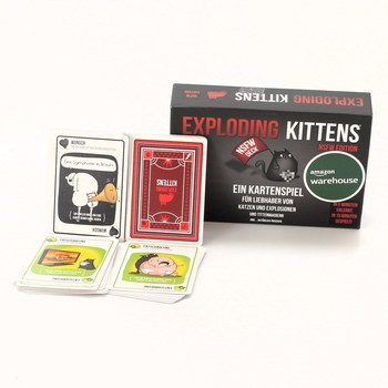 Karetní hra Exploding Kittens LLC Adult
