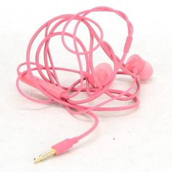 Sluchátka do uší Samsung růžová