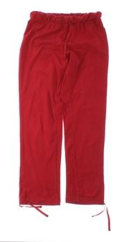 Dámské plátěné kalhoty Janina červené