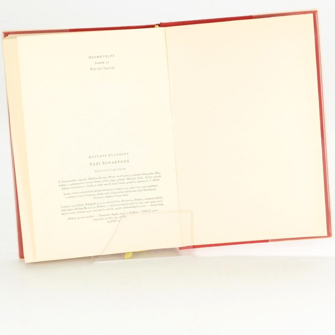 Kniha Gustave Flaubert: Paní Bovaryová
