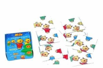 Dětský hlavolam Puzzle Míša 9 kartiček