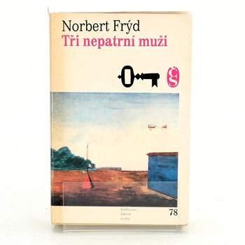 Kniha Norbert Frýd: Tři nepatrní muži