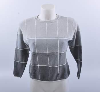 c42a5161839 Dámský svetr Jadekorse odstíny šedé