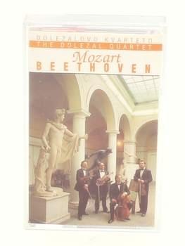 Audiokazeta Doležalovo kvarteto: Mozart, Beethoven
