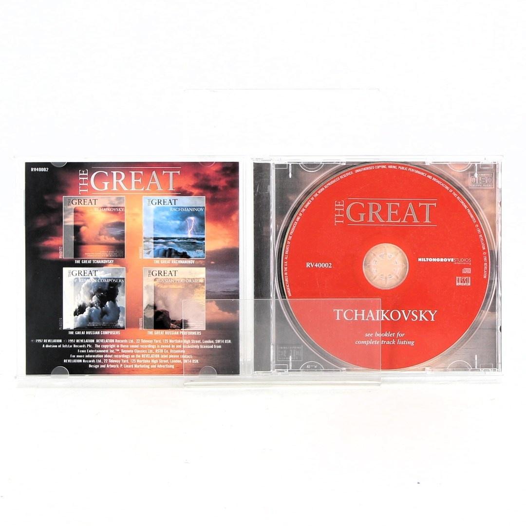Hudební CD The great Tchaikovsky