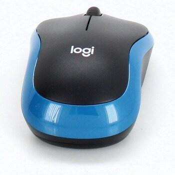 Optická myš Logi M 185 modrá