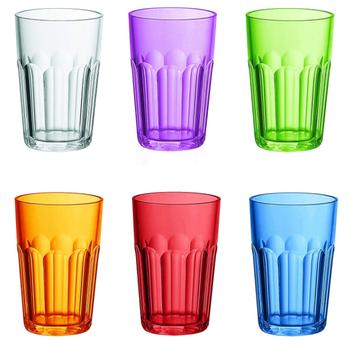 Plastové barevné sklenice Guzzini 6 ks