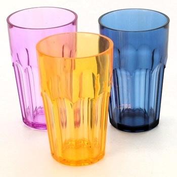 Plastové sklenice Guzzini 3 ks