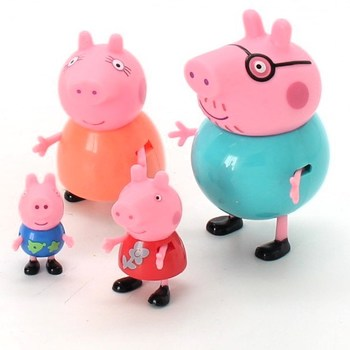 Figurky Peppa Pig Family Pack