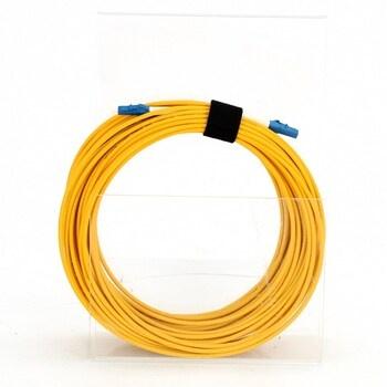 Optický audio kabel Elfcam 15m žlutý