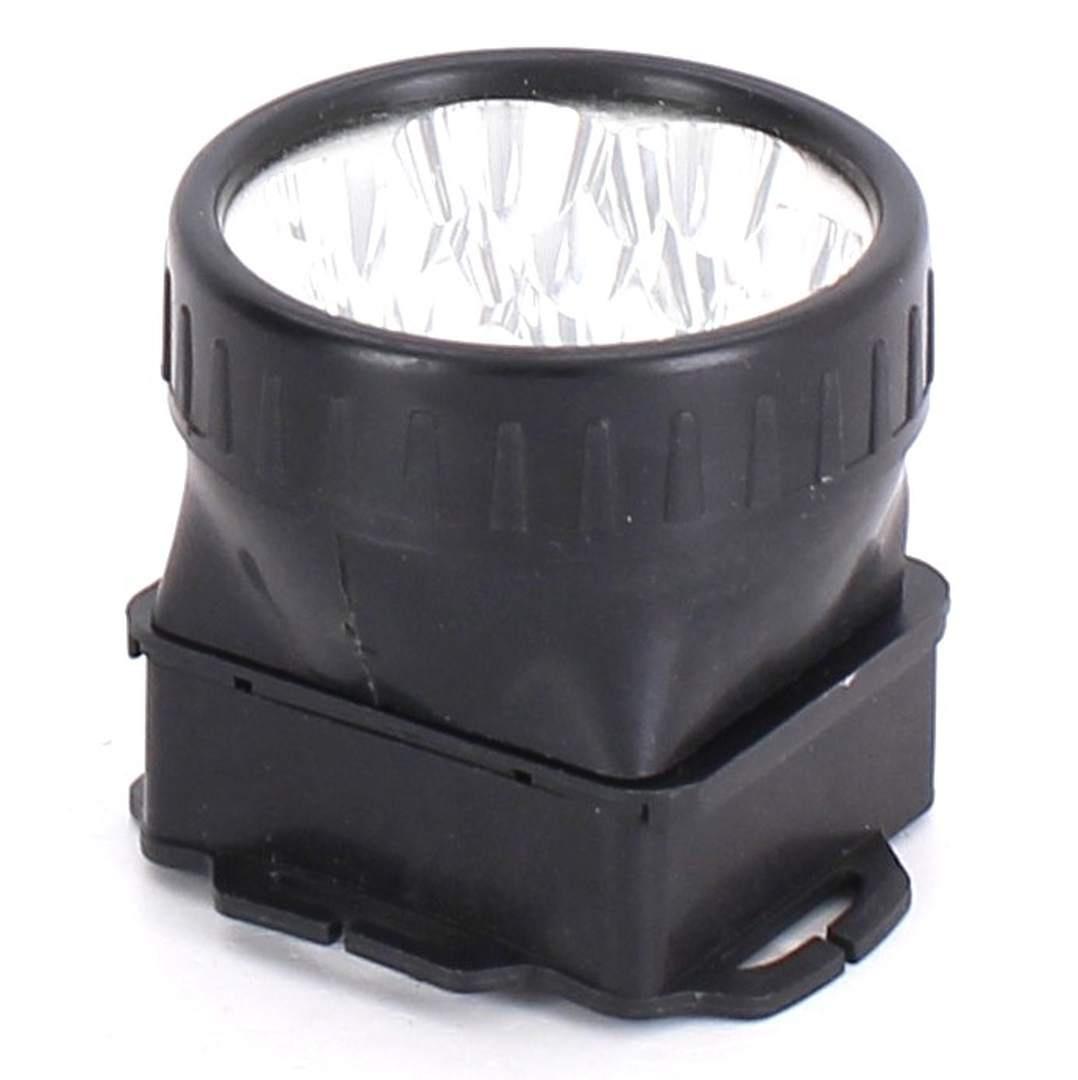 Čelová svítilna bez popruhu černá
