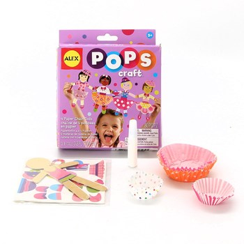 Kreativní sada Papírové panenky