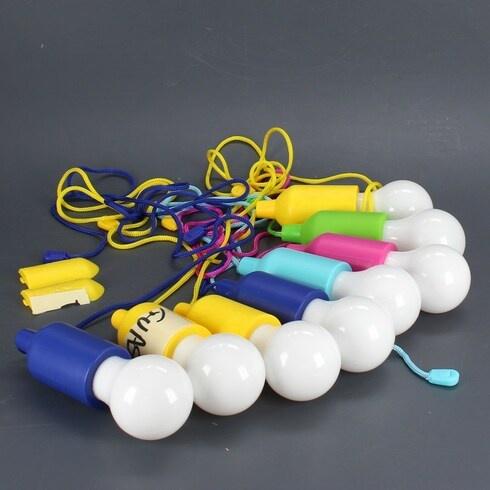 LED žárovky Tempo di saldi pro kempování 8ks