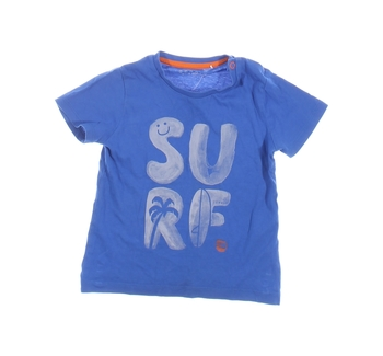 Dětské tričko Esprit modré s nápisem