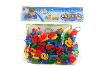 Navlékací čísla Blocks barevné