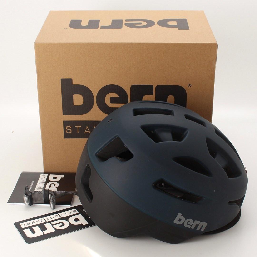 Cyklistická přilba Bern Union BM13ZMBLK01