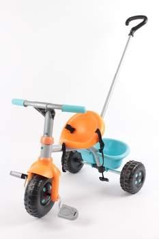 Dětská tříkolka s vodící tyčí Smoby