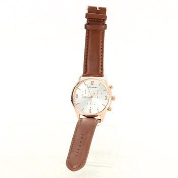 Elegantní hodinky Dunlop zlaté