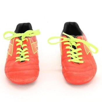 Dětské sportovní boty Lotto odstín oranžové