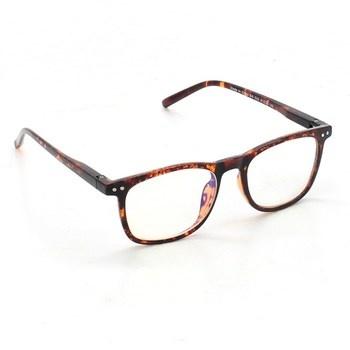 Žíhané sluneční brýle APOSHION 2 ks