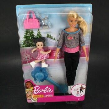 Mattel Barbie trenérka bruslení