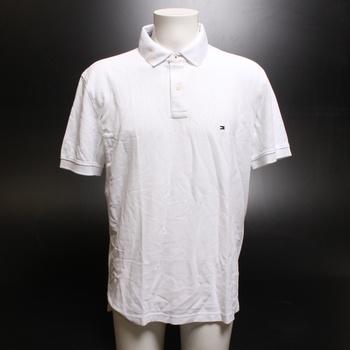 Pánské polo Tommy Hilfiger 867878433 bílé XL