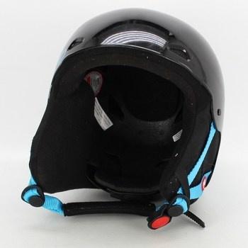 Dětská helma Reo černo-modrá