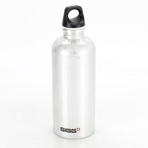 Outdoor láhev Sigg stříbrná