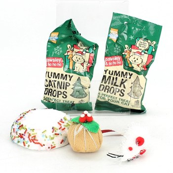 Hračka pro kočku Festive Cracker